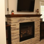 Fireplace remodel in Bucks County, PA