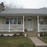 Front Porch Remodel in Bucks County, PA