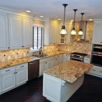 Kitchen tiling remodel in Bucks County