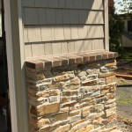 Exterior Brick remodel in Montgomery County, PA